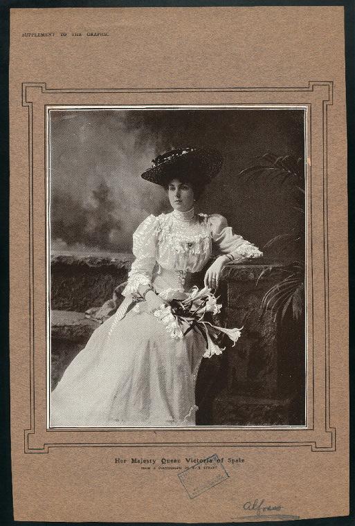 Her majesty Queen Victoria of Spain.