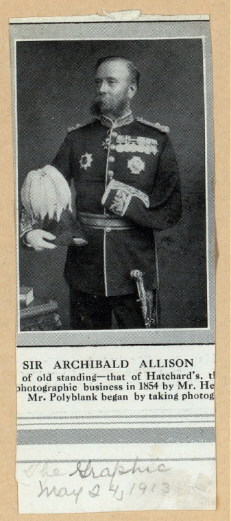Sir Archibald Allison.