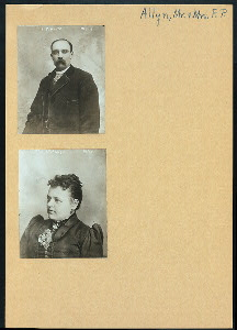 [Mr. and Mrs. F. P. Allyn.]