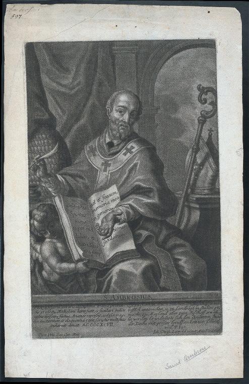 S. Ambrosius.