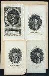 Sir Jeffery Amherst [4 portraits on 1 sheet]