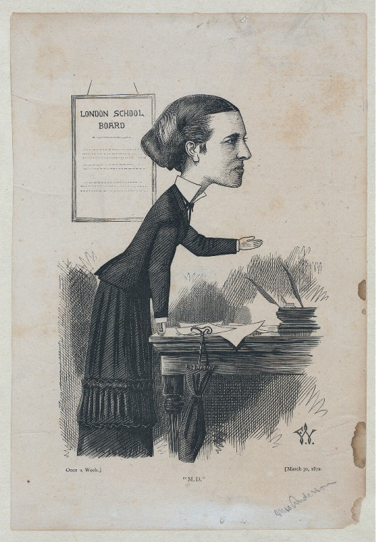 Mrs. Anderson ['M.D'].March 30 1872.