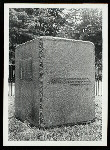[Tomb stone of Major Andr