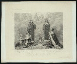 Anne d'Autriche et ses en