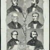 American Celebrities : 1. Fitzgreene Halleck, 2. William Cullen Bryant, 3. Charles Anthon, 4. Bayard Taylor, 5. George Bancroft, 6. Nathaniel Parker Willis.