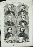 American Celebrities : 1. Fitzgreene Halleck, 2. William Cullen Bryant, 3. Charles Anthon, 4. Bayard Taylor, 5. George Bancroft, 6. Nathaniel Parker Willis.