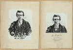 Rev. Dr. Anthon [a sheet with two portraits].