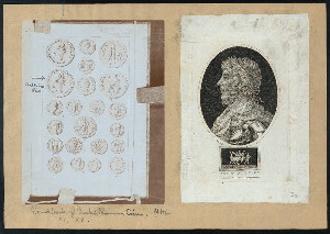 [Photograph of a page from the Handbook of Greek and Roman coins] ; Antoninus Pius.