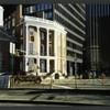 Block 001: East edge of Battery Park (east side)