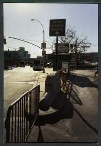 Block 001: Road leading to ramp to Staten Island Ferry (south side)