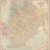 Pocket map of the borough of Brooklyn, New York City.