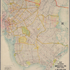 Map of the Borough of Brooklyn, New York.