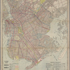 Eagle almanac map of the borough of Brooklyn.