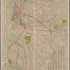 New quick reference street indexed map of the Borough of Brooklyn.