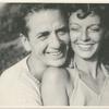 Margaret Sullavan and Leland Hayward, faces together