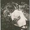 Brooke Hayward picking flowers
