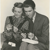 Publicity photograph of Margaret Sullavan and Jimmy Stewart in the motion picture Little Shop Around the Corner