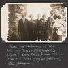 From University of N. C.  Mr and Mrs T. J. Woofter, Jr., Clyde V. Kiser, Miss Jessie Alverson, Mr and Mrs Guy B. Johnson, Ben Johnson