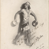 Adolf Bolm in the Assyrian Dance