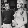 Woody Allen and Barbara Brownell in the stage production Play It again, Sam.