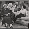 Claudia McNeil, Sidney Poitier, and Diana Sands in the stage production A Raisin in the Sun