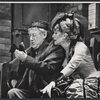 Jack Gilford and Gretchen Wyler in the stage production Sly Fox
