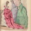 Le Follet: Toilettes de Mme. Delacroix, Pl. 700