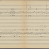 Clean copy of a graph of Sonata, Op. 106, 1st movement, measures 1-134, in the hand of Angi Elias, Item# 4 (verso)