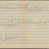 Clean copy of a graph of Sonata, Op. 106, 3rd movement, in the hand of Angi Elias, Item# 28 (verso)
