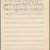 Clean copy of a graph of Sonata, Op. 106, 4th movement, measures 383-400, in the hand of Angi Elias, Item# 46 (recto)