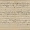 Clean copy of a graph of Sonata, Op. 106, 4th movement, measures 250-382, in the hand of Angi Elias, Item# 45 (verso)