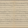 Clean copy of a graph of Sonata, Op. 106, 4th movement, measures 119-249, in the hand of Angi Elias, Item# 44 (verso)