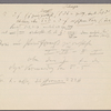 Notes and musical example concerning Sonata, Op. 106, 2nd movement, Item# 23 (recto)