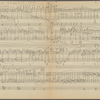 Clean copy of a graph of Sonata, Op. 106, 1st movement, measures 1-161, in the hand of Angi Elias, Item# 12 (verso)