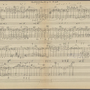 Clean copy of a graph of Sonata, Op. 106, 2nd movement, in the hand of Angi Elias, Item# 24 (verso)