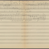 Clean copy of a graph of Sonata, Op. 106, 1st movement, measures 326-405, in the hand of Angi Elias, Item# 14 (verso)