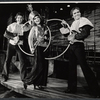 Jerry Lanning, Judy Lander, and Hal Watters in the stage production Berlin to Broadway with Kurt Weil