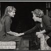 Melinda Dillon and Uta Hagen in the stage production Who's Afraid of Virginia Woolf?