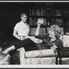 George Grizzard and Uta Hagen in the stage production Who's afraid of Virginia Woolf?