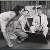 France Nuyen, William Shatner, and Ron Randell in the stage production The World of Suzie Wong
