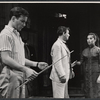 William Shatner, Ron Randell, and France Nuyen in the stage production The World of Suzie Wong