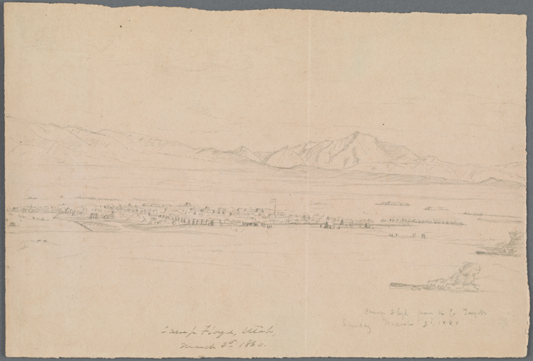 Fascinating Historical Picture of Utah Expedition on 3/3/1860