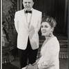 John McGiver and Elizabeth Wilson in the stage production Sheep on the Runway