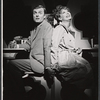John McMartin and Gwen Verdon in the stage production Sweet Charity