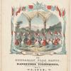 TheHungarian flag dance, gallop des drapeaux