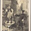 Peter Stuyvesant, rebuking the cobler