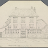 "Hardy, Emma Lavinia (Gifford). ""10 York st., Plymouth."" Original pencil sketch of her birthplace"