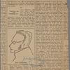 "Max Stirner. Portrait sketch made by Friedrich Engels. From John Henry Mackay's ""Max Stirner,"" (Schuster, Loeffler & Co., Berlin.)..."