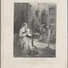 """Writing for """"Our young folks."""" An original portrait of Mrs. Harriet Beecher Stowe at home"""