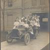 Twenty-four children in an automobile